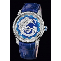 Ulysse Nardin Classico Lady (WG-Diamond / Bird) 8150-112