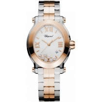 Chopard Happy Sport Oval Quartz Ladies Watch