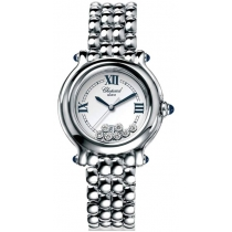 Chopard Happy Sport Steel 7diamond Round Ladies Watch