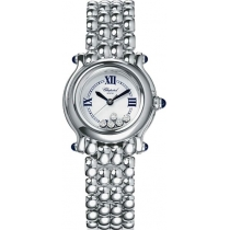 Chopard Happy Sport Classic Round 5 Floating Diamonds Ladies Watch
