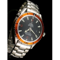 Omega Seamaster Professional Orange Bezel Black Dial