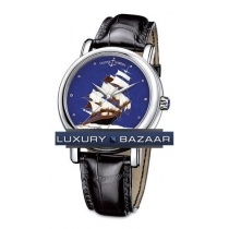 Ulysse Nardin San Marco Cloisonne Flying Cloud (Platinum