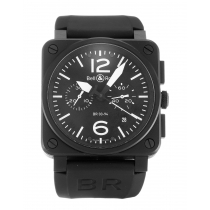 Bell and Ross BR03-94 Chronograph Carbon-42 MM