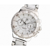 TAG Heuer Formula 1 White Ceramics ETA 7750 Mechanical Chronograph