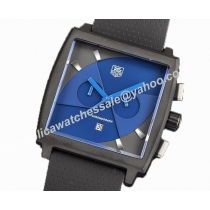 Tag Heuer Monaco Limited Blue Black Face