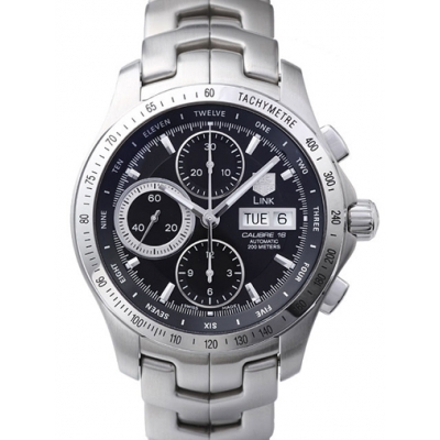 Tag Heuer Link Automatic Chronograph Day-Date CJF211A.BA